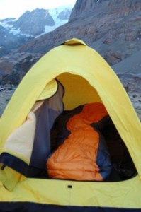 I have not experienced any condensation problems when using this tent. This seems to be a common complaint about single wall shelters. & Bibler Eldorado | Chris Echterling