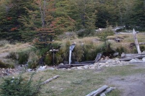 Campamento Rio Blanco has running water!