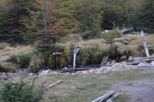 Campamento Rio Blanco has running water!