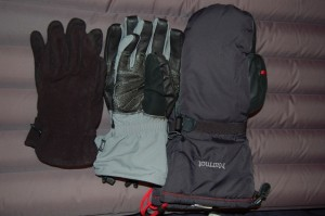 A selection of my favorite handwear for severe conditions
